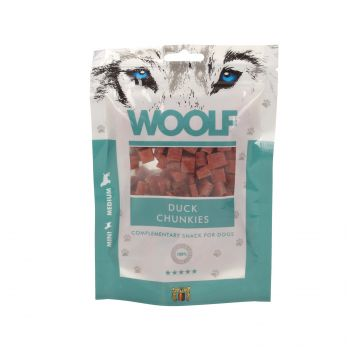 WOOLF PRZYSMAK DUCK CHUNKIES 100G