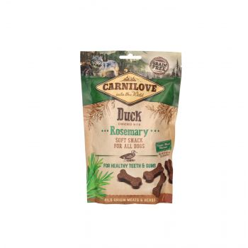 CARNILOVE PRZYSMAK DLA PSA SEMI MOIST SNACK DUCK ENRICHED WITH ROSEMARY 200G
