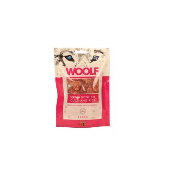 WOOLF PRZYSMAK SMALL BONE OF DUCK AND RICE 100G