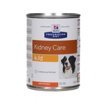 HILL'S PD CANINE K/D KIDNEY CARE 370G PUSZKA