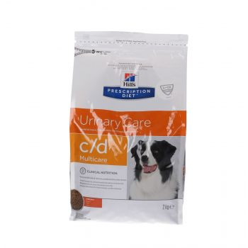 HILL'S PD CANINE C/D URINARY MULTICARE 2 KG