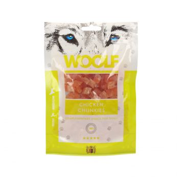 WOOLF PRZYSMAK CHICKEN CHUNKIES 100G