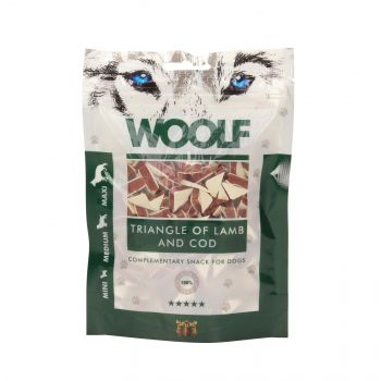WOOLF PRZYSMAK LAMB AND COD TRIANGLE 100G